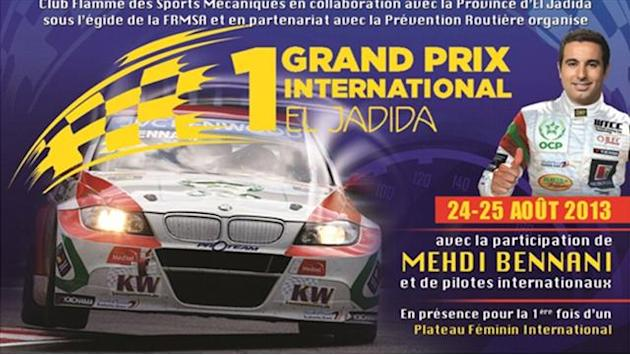 WTCC - Bennani and WTCC drivers in El Jadida GP