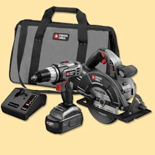 18-Volt Nickel-Cadmium Drill/Driver and Circular Saw