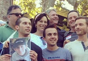 Malcolm in the Middle reunion | Photo Credits: Courtesy of Frankie Muniz