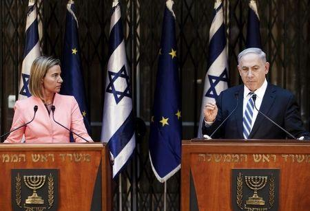 EU says continues Mideast peace role despite Israel move