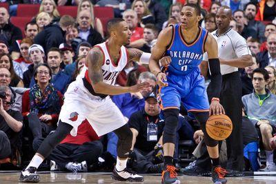 NBA Scores 2015: The Trail Blazers can withstand Russell Westbrook, and 3 other things we learned Friday