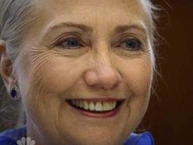 Clinton: Danger if Blood Clot Grows