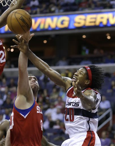 76ers get motivated, rally to beat Wizards 97-86