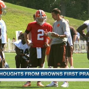 Thoughts from Cleveland Browns first practice