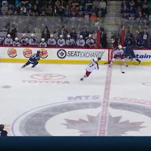 Josh Anderson Hit on Mark Scheifele (16:39/1st)