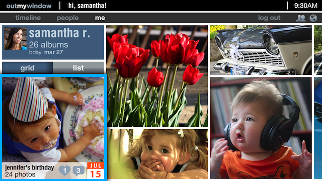 OutMyWindow App Makes Photo Sharing Family Oriented