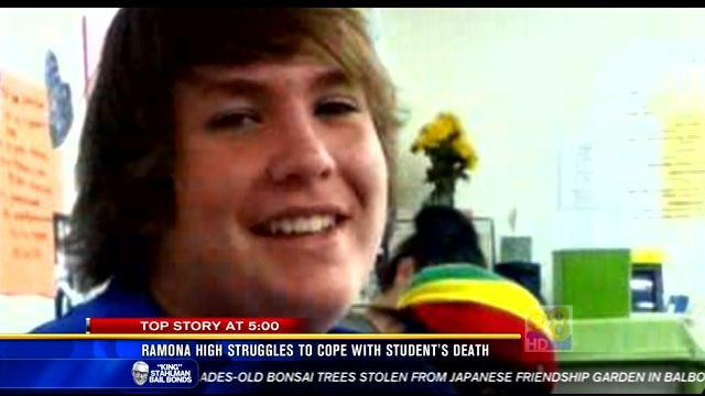 Ramona High struggles to cope with student's death