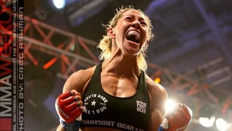"Cris ""Cyborg"" Expects to Knock Out Marloes Coenen at Invicta FC 6"