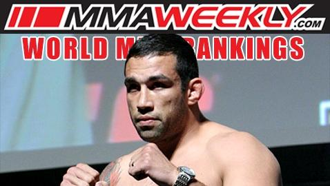 MMA Top 10 Rankings: Fabricio Werdum Inches Towards the Top of the Heavyweight Division
