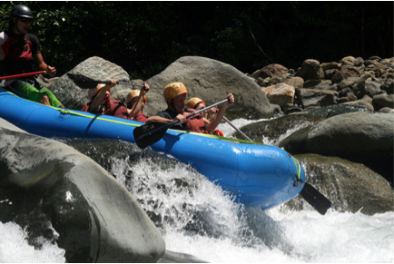 Take A Whitewater Rafting Trip