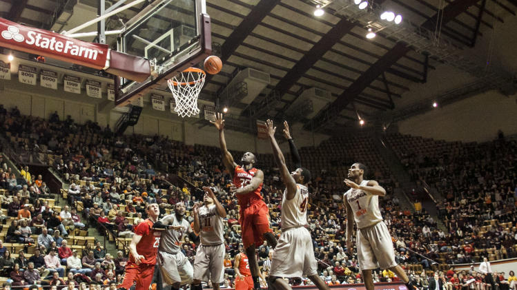 NCAA Basketball: Maryland at Virginia Tech