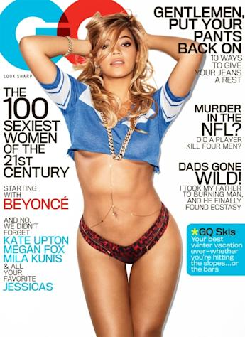 Beyonce on the cover of GQ, February 2013 -- GQ