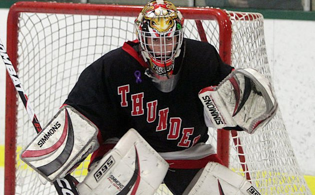Female Goalie Peyton Parker Aspires To Play Junior A Hockey