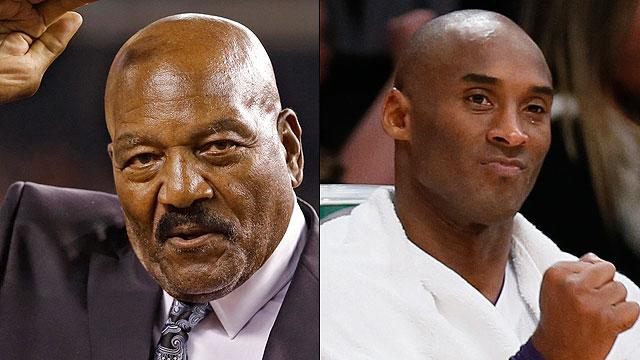 Jim Brown calls out Kobe Bryant