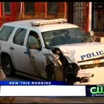 Officer Injured In North Philly Crash