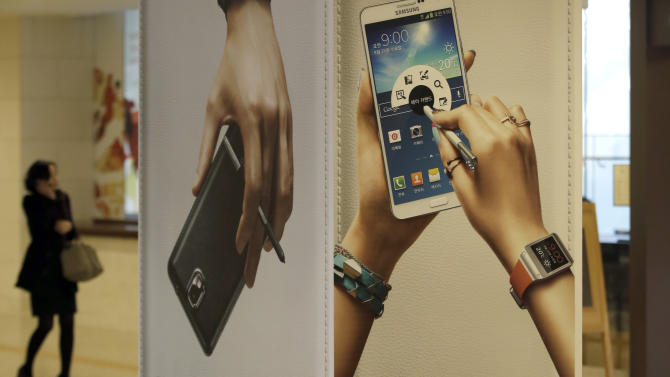 Samsung's 4Q profit hit by slowing mobile growth