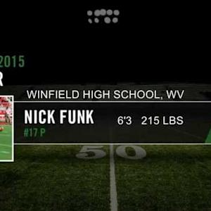 Nick Funk's Senior Highlights