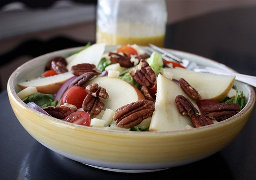 Crunchy Fall Apple Salad
