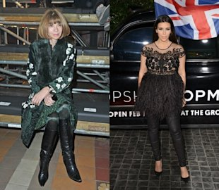 read hysterical fashion faux pas anna wintour compared kim kardashian