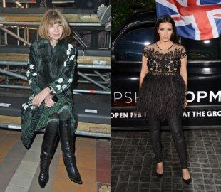 read hysterical fashion faux pas anna wintour compared kim kardashian