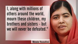 Malala Yousafzai on deadly Pakistan school attack: …