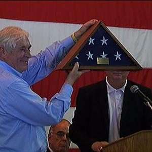 D-Day vets honored by French town