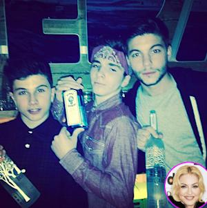 Madonna's Son Rocco, 13, Holds Liquor Bottle in Controversial Instagram Photo