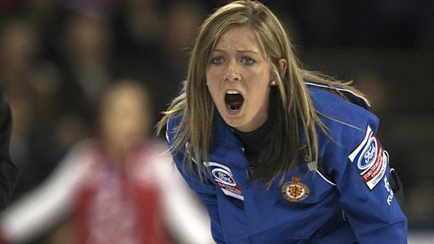 Scotland skip Eve Muirhead (Reuters)
