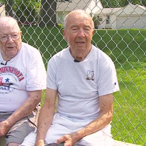2 Minn. Tennis Players In Their 90s Competing In Nat'l Games