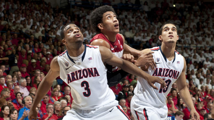 NCAA Basketball: Stanford at Arizona