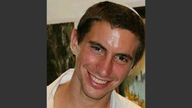 FILE - This undated file photo shows Israeli Army 2nd. Lt. Hadar Goldin, 23, from Kfar Saba, central Israel. Israel's military announced early Sunday, Aug. 3, 2014, that Goldin, of the Givati infantry brigade, had been killed in battle.(AP Photo/YNet News) ISRAEL OUT