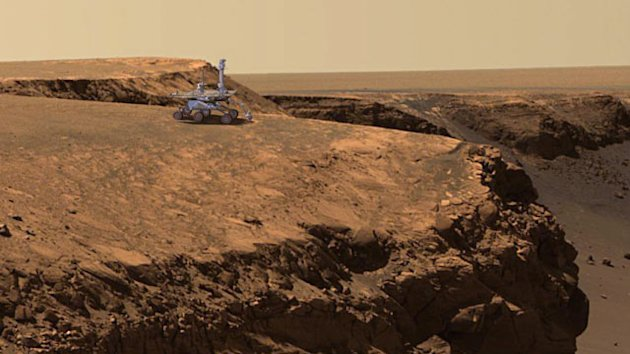 Mars Rover: 9 Years and Still Going (ABC News)