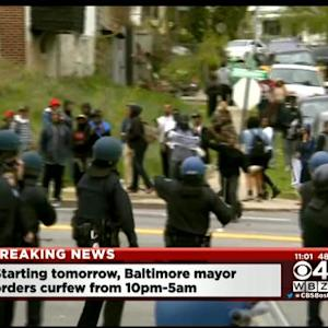 State Of Emergency Declared In Baltimore After Riots