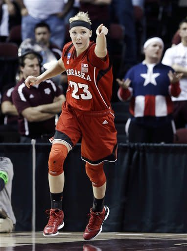 Nebraska women beat A&M to reach NCAA round of 16
