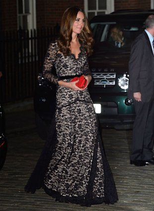 Kate Middleton Reminisces About See-Through Dress Which Caught Wills' Eye At Charity Dinner