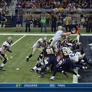 New Orleans Saints QB Drew Brees scores on QB sneak