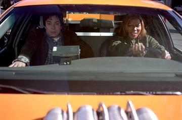 Jimmy Fallon and Queen Latifah in 20th Century Fox's Taxi