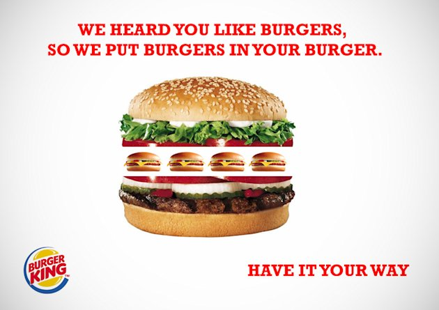 Why Bad Customer Service Bleeds Your Company Dry (Infographic) image 208360 burger king bk advertsiment2