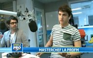 Petru Buiuca, primul MasterChef al Romaniei, la StirileProTV:&quot;Am primit oferte si inainte de finala&quot;