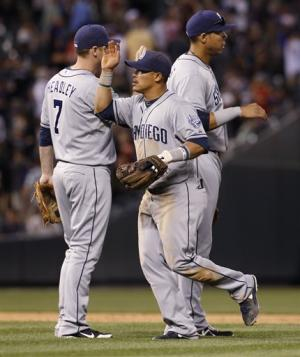 Blanks' 2-run homer helps Padres to 4-2 win