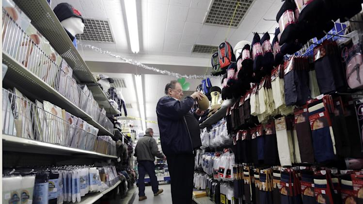 Solid gain in Feb. US retail sales eases concerns