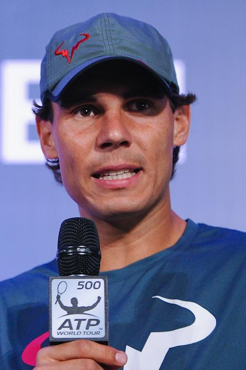 ATP Rio Open 2014 - Press Conference and Training Session with Rafael Nadal