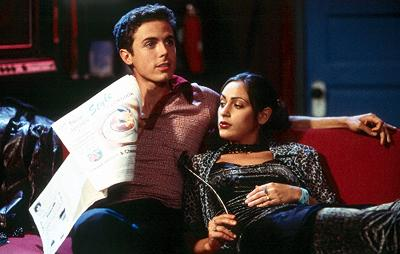 Casey Affleck as Jay and Summer Phoenix as Meg in Miramax's Committed