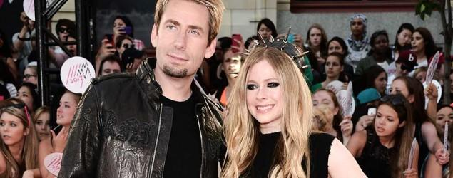 Avril Lavigne and her husband are breaking up