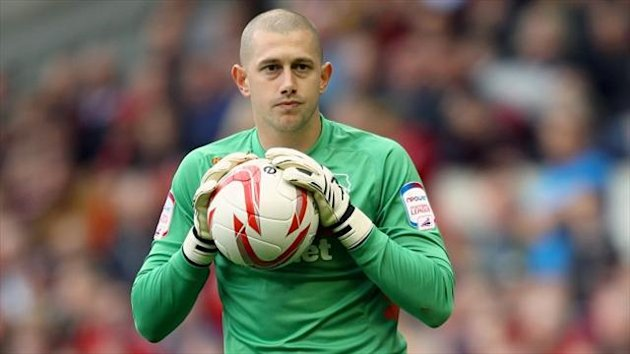 Frank Fielding, pictured, and Adam Legzdins are poised to leave Derby