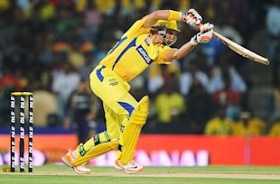 Chennai Super Kings batsman Michael Hussey