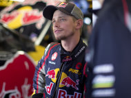 Dual MotoGP champion Casey Stoner says he's happy with his decision to switch to V8 Supercars