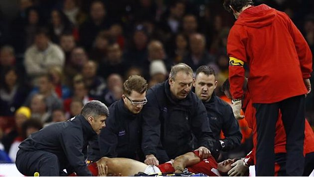 Rugby - Wales' Halfpenny discharged from hospital