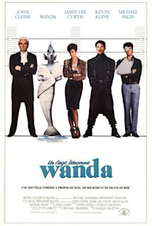 Poster of A Fish Called Wanda