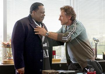 Cedric the Entertainer and Harvey Keitel in MGM's Be Cool